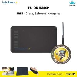Huion H640P FREE PEN STAND & ANTIGORES