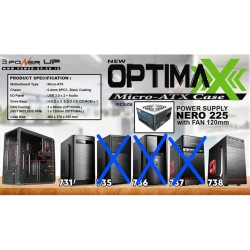 Casing Power Up Optimax Series TANPA PSU