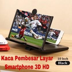 Pembesar Layar Smartphone 3D HD Ukuran 10 Inch / Pembesar Layar HP - Hitam