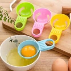 Alat Pemisah Telur Egg White Separator DAPUR TELOR BAKING ADONAN RESEP - REGULAR PUTIH