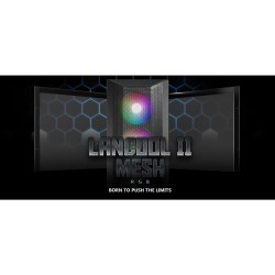 LIAN LI LANCOOL II MESH RGB - BLACK - STEEL SHROUD PANEL