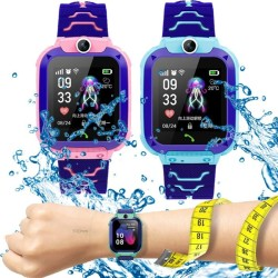 JAM TANGAN ANAK PINTAR K10 GPS CAMERA TELEPON GAME MODEL IMO Q12