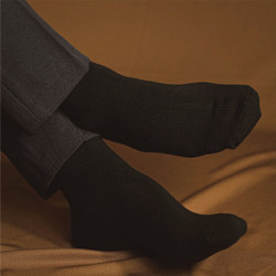 HOUSEOFCUFF kaos kaki socks hitam formal tebal sepatu