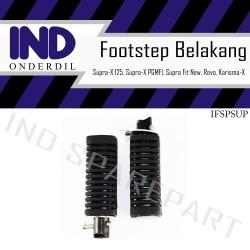 Footstep Belakang Supra X 125 & PGMFI/Supra Fit New/Revo/Karisma X