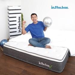 Kasur Spring Bed Inthebox X Ukuran 160 x 200 (Queen) FREE SHIPPING