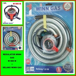 SELANG PAKET WINN GAS W 900 M + SELANG GAS WINN GAS
