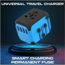 UNIVERSAL TRAVEL ADAPTOR 4 USB INTERNASIONAL
