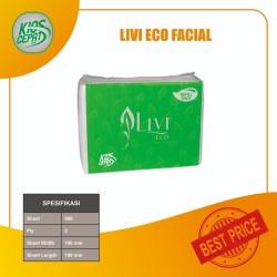 [KHUSUS GOJEK/GRAB] Tissue LIVI ECO Facial Refill 600s (1DUS = 24PACK)