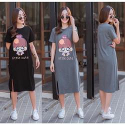 damai fashion jakarta - baju DRESS wanita CINTA 2 WARNA - konveksi tan - Hitam