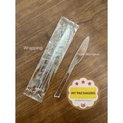 Pisau Plastik / pisau kue kecil / pisau steak PREMIUM