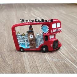 souvenir bus london tempelan magnet kulkas bigben inggris