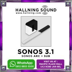 Sonos 3.1 Home theater Sonos arc + Sub