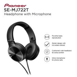 PIONEER Headphone SE-MJ722T-K