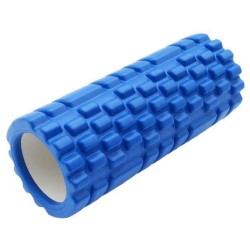 Rumble Roller Foam Yoga pilates foam roller - Biru