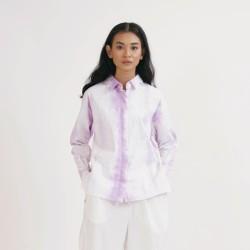 NONA Oversized Shirt Tie Dye Lilac