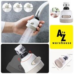 Turbo Faucet 360 Rotasi Sambungan Keran Faucet Sprayer Flexible Hose