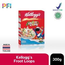 Kelloggs Fruit Loops 300g Sereal Rasa Buah