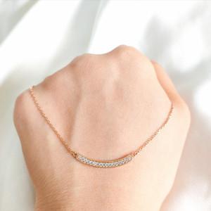 Necklace Infinity Chain Flirting Medallion Gold Shop Kalung Emas asli
