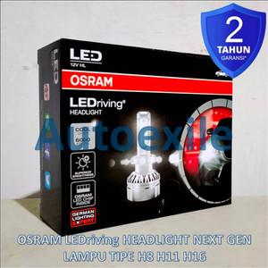 Osram LEDriving Headlight Next Gen H8 H11 H16 6000K Putih Lampu LED