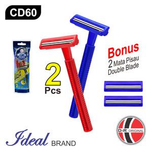IDEAL CD60 Pisau Cukur / Razor Double Blade