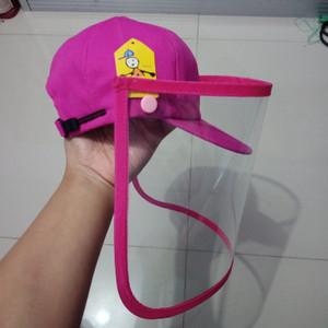 Face Shield Anak Bentuk Topi Pelindung Wajah