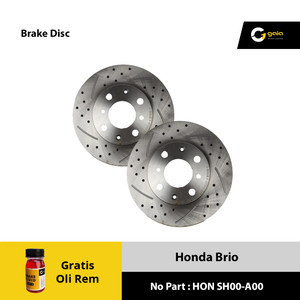 Brake Disc Rotor Brio GAIA SR3-A10 Original