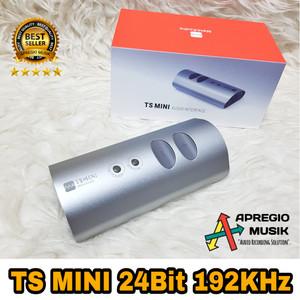 Soundcard TS mini Melo audio 24bit 192khz 2 track terpisah
