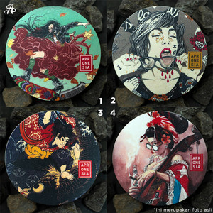Japanese Sticker Series (Choose 3 items) /Stiker Seri Jepang (Pilih 3)