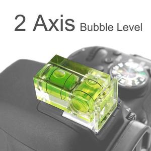 waterpass spirit bubble level 2 axis sumbu hot shoe DSLRkamera digital