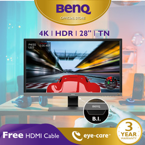 BenQ EL2870U 28 inch 4K UHD HDR 1ms Gaming LED Eye Care Monitor