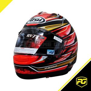 Arai RX-7X Nakagami GP Full Face Helmet