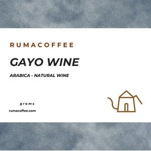 PROMO SPESIAL Kopi Arabica Gayo Wine Coffee 200 Gram dari Rumacoffee