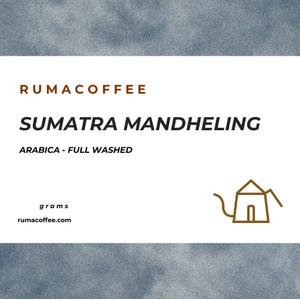 PROMO SPESIAL Kopi Arabica Sumatra Mandheling 200 Gram Rumacoffee