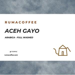 PROMO SPESIAL Kopi Arabica Aceh Gayo Coffee 200 Gram dari Rumacoffee