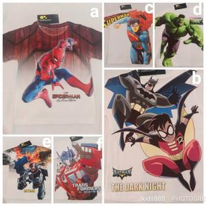 Kaos Anak Superhero