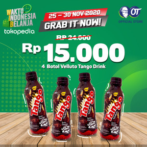 Velluto Tango Drink 250ml [Bundle 4 Pcs]