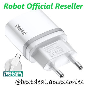Robot RT-K7 Adaptor Charger 5V/1A With Cable Micro USB
