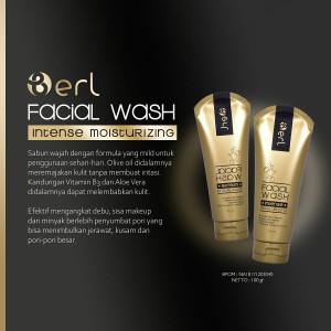 B ERL COSMETICS ORIGINAL | LIGHTENING SERIES BERL | FACIAL WASH BERL