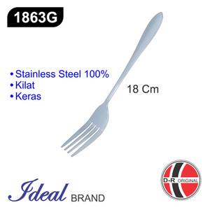 IDEAL 1863G Garpu Makan 18Cm MURAH !!! - Kilat - Keras - Kuat