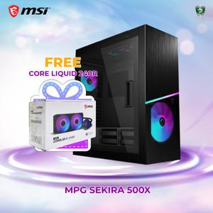 MSI MPG SEKIRA 500X | Mid Tower E-ATX Case