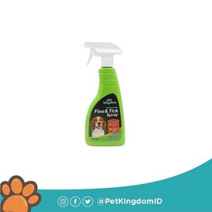 PET KINGDOM FLEA & TICK SPRAY 500ML