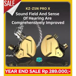 Knowledge Zenith KZ ZSN PRO X IEM in ear earphone Hybrid 1BA + 1DD