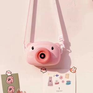READY STOCK !! Pig Bubble camera / Kids Baby bubble maker machine