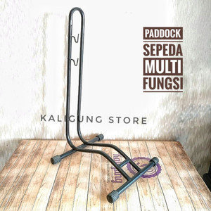 PDL03 Paddock Sepeda Multi Fungsi - Standar Sepeda Gowes - Bike Stand