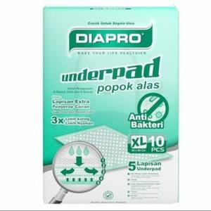 Underpad Diapro XL Anti Bakteri isi 10