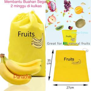 Reuseable Fruit Fresh Bag / Tas agar Buah2an Segar 2 Minggu