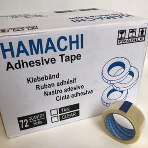 lakban bening Hamachi 45mm [1 dus = 72 pcs]