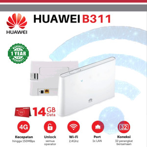 HUAWEI B311 HOME ROUTER 4G LTE WIFI UNLOCKED ALL OPERATORS