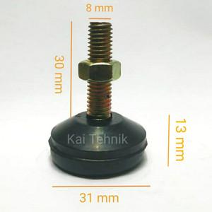Karet Kaki Kursi Baut 8 mm Adjuster