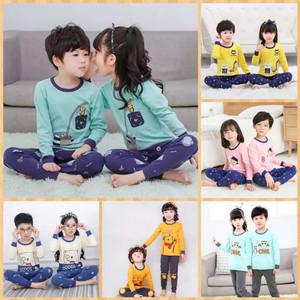 Setelan Baju anak - Baju tidur piyama anak laki laki - perempuan 1-9th